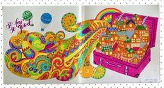 #coloreando ando... del libro Beautiful Day de Young Mi Park #youngmipark