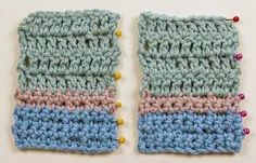 how to count crochet rows stitches crocheting knitting markers pins yarn