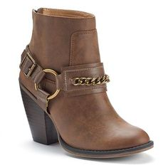 Candie's® Women's Western Ankle Boots