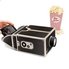 Are you kidding me right now? Smartphone Projector from www.animacausa.com