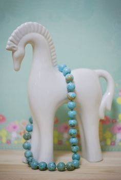 ceramic horse. from my collection