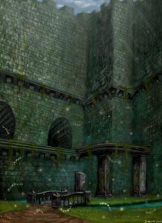 Forest Temple ocarina of time #loz #legend_of_zelda