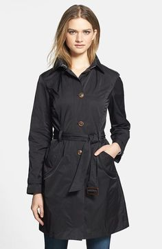 $197, Packable Trench Coat by Rainforest. Sold by Nordstrom. Click for more info: http://lookastic.com/women/shop_items/89099/redirect
