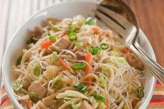 Pancit (Filipino noodle dish - use shirataki noodles for low carb)