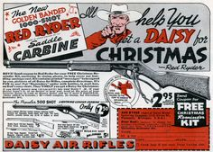 Red Ryder ad… a small tribute to A Christmas Story…
