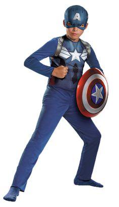 Captain America Basic Costume Child Size  The Avengers