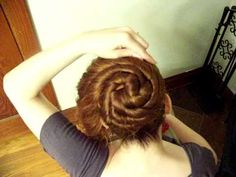 In case you just DO NOT know what to do with all those bobby pins after prom this style is for you.