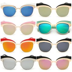 3b232624d22 retro style cateye sunglasses in a variety of colours Retro Sunglasses