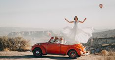 One of many great free stock photos from Pexels. This photo is about Volkswagen Beetle, wedding, woman Brunch Wedding, Wedding Book, Wedding Couples, Summer Wedding, Wedding Photos, Wedding Tips, Santorini, Wedding Planner, Destination Wedding