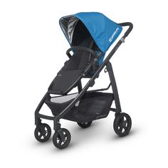 The UPPAbaby Cruz Stroller gives you more without weighing you down. This compact stroller is easy to maneuver in crowds, through tight doorways and anywhere else you need to go.