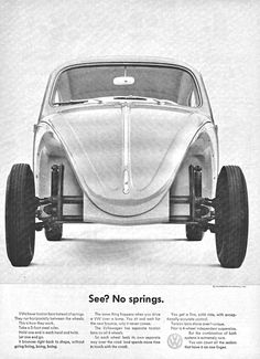 No Springs VW Beetle AD