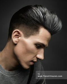 Keller the school коллекция 2014 Idols — HairTrend. Hairstyles Haircuts, Haircuts For Men, Cool Hairstyles, Black Hairstyles, Pompadour, Silver Hair Men, Grey Hair Men, Mens Hair, Hair And Beard Styles