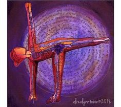 Yoga Art Resolve Print от ElizaTobin на Etsy