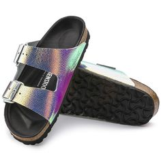 BIRKENSTOCK Arizona Natural Leather Ombre Pearls Silver Black in all sizes ✓ Buy directly from the manufacturer online ✓ All fashion trends from Birkenstock Birkenstock Arizona, Black Birkenstock, Birkenstock Sandals, Sparkly Sandals, Cute Sandals, Shower Shoes, Vsco, Hype Shoes, Slipper Sandals