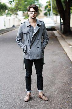 men style...coat <3