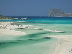 Balos Beach on Crete island images - Yahoo Image Search Results Beautiful Places In The World, Beautiful Beaches, Dream Vacations, Vacation Spots, Places To Travel, Places To See, Santorini, Mykonos, Balos Beach