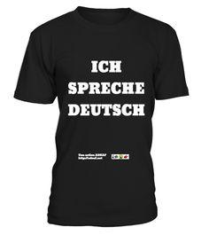 T shirt Je parle allemand - Ich spreche Deutsch fashion trend 2018  tshirt,    eb49e11e98