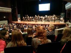 Concert 70 jaar bevrijding Hoogeveen voor basisonderwijs . Mooie samenwerking Cultuurmenu en Historische Kring.