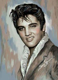 Elvis art Sarah Lynn Saunders