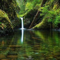 Fantastic Punch Bowl Falls, OR, United States. Please Follow: +Wonderful World