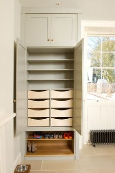 Cupboard drawers - fireplace alcoves?