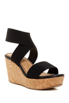 Geena Platform Wedge Sandal by Splendid on @nordstrom_rack