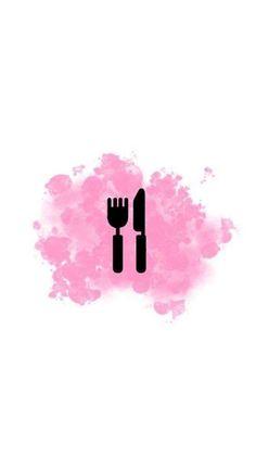 Food Background Wallpapers, Pink Background Images, Cute Wallpapers, Wallpaper Backgrounds, Pink Instagram, Instagram Frame, Instagram Logo, Pink Story, Hight Light