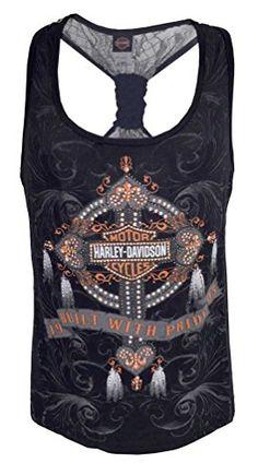 5d2eb606f2ba Harley-Davidson Women s Tank Top Harley Shirts