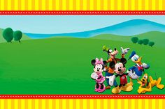 Free Printable Mickey Mouse Clubhouse Invitations Template | Piper\'s ...