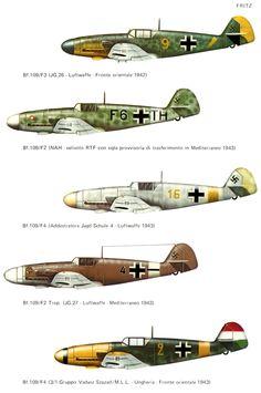 MESSERSCHMITT BF 109 F FRITZ