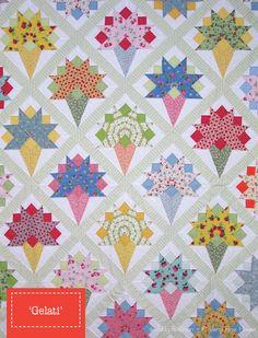Gelati Quilt Pattern von Judy Newman von ein sehr von westwoodacres