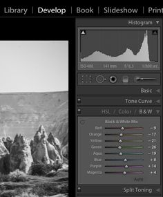 3 Tips for Better Black and White Conversion using Lightroom