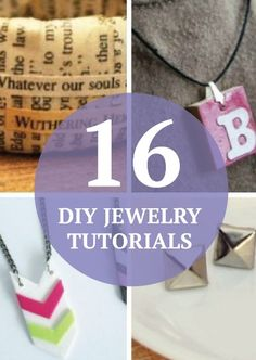 Get fancy with your own DIY jewelry. These 16 FREE tutorials are so fun!