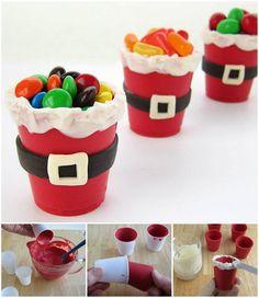 Santa Suit Candy Cups -