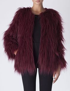 SuiteBlanco- Fur coat