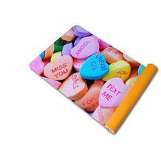 Happy Valentines Day lovers! #valentinesday#anymatic#yogamatic#yogamat#custom#printedyogamat#