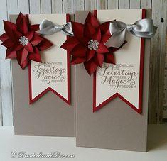 Verpackung - Elementstanze Festliche Blüte - Weihnachten - Stampin Up - Basteltante Doreen