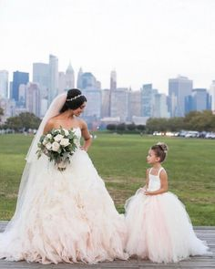 66a3ff464e The Olivia Dress in Ivory and Blush - Flower Girl Dress