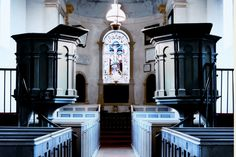 Interior of St George's Church, Portland, Dorset.