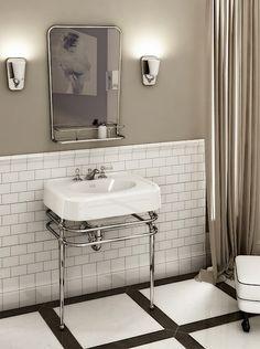 Art Déco - le style de décoration glamour | Art deco, Bath design ...