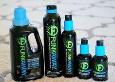 FunkAway | Odor Eliminator #FunkAway ~ The Dias Family Adventures Odor Eliminator, Family Adventure, Water Bottle, Deodorant, Water Bottles