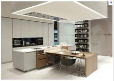 kitchen - dining/island bench- different products together & colours