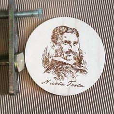 Happy b'day, Nicola Tesla / С днем рождения, Никола Тесла #progressworkshop #tesla #nicolatesla #тесла #николатесла #деньрождения #happybday