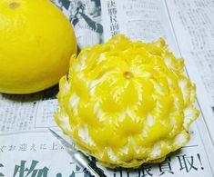 Les nouveaux Motifs élaborés et Dessins sculptés sur Fruits et Légumes de Gaku (6)