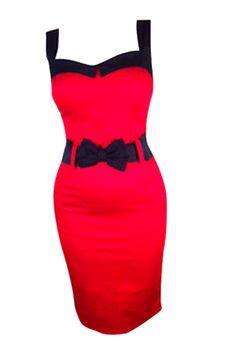 Switchblade Stiletto Women's Christine Black Cherry Darling Dress