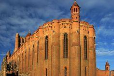 Episcopal City of Albi, France.