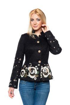 """Жакет """"Барбара"""" - Юкостайл. Магазин дизайнерской одежды оптом и в розницу."""