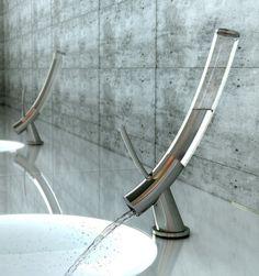 Sleek, modern style faucet