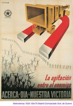 Spain - 1938. - GC - poster - autor: Emeterio Melendreras