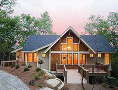 Popular Mountain Home Plan